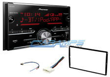 NEW PIONEER STEREO RADIO W DIGITAL MEDIA & BLUETOOTH & SIRIUS XM W INSTALL KIT