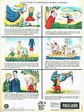PUBLICITE ADVERTISING 036  1959  Bolex Paillard  caméra  la fée Viviane