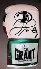 """FLOYD """"MONEY"""" MAYWEATHER SIGNED AUTO GRANT BOXING GLOVE BAS WITNESSED #WD96415"""