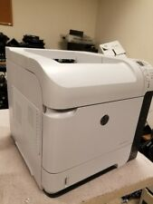 HP LaserJet M602N Printer WOW Only 57,772 pages with toner too!  CE991A