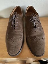 Loake Made in England - Luke Shoes Size UK 11G Suede Upper & Leather Sole - VGC