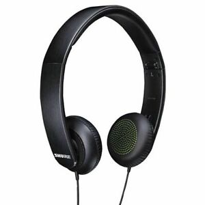 SHURE SRH144 Portable Semi-Open Headphones NEW