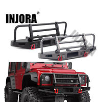 Adjustable Metal Front Bumper for 1/10 RC Traxxas TRX4 Defender Axial SCX10/ II