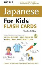 Tuttle Japanese for Kids Flash Cards [With CD (Audio) and Wall] (Mixed Media Pro