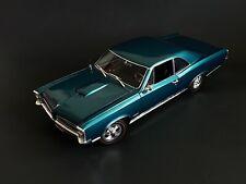 1966 Pontiac GTO Turquoise 1:18 Acme 1801212 HTF #035 Of 402