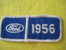 """Vintage 1956  Ford Patch 3 1/2"""" X 1 1/2"""""""