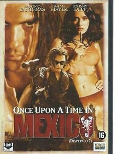 DVD - ONCE UPON A TIME IN MEXICO - BANDERAS/ HAYEK - DEPP - ENGLISH R2 europe