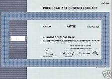 PREUSSAG AG Berlin Hannover Germany ( now TUI Hapag Lloyd CP SHIPS owners )