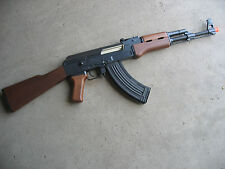 Double Eagle DE Metal AK-47 AEG Airsoft Gun Wood 320 FP
