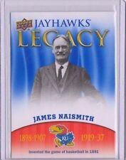 2013 Upper Deck Kansas Jayhawk Legacy #JL1 James Naismith Mint Jayawks KU SP