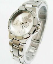 Women Girl Boy Cartoon Disney Mickey Mouse Quartz Wrist Watch=FREE BATTERY*