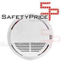Detector de Humos Techo Alarma Anti Incendios Fuego No Fumadores Sensor