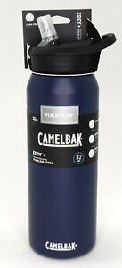 CamelBak Eddy+ SST Vacuum Insulated Stainless Steel Water Bottle 32oz Navy Blue