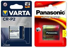 CRP2 CR-P2 Lithium Batterien SET 1x Panasonic + 1 x Varta