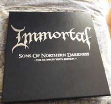 "Immortal sons...4 x 10"" box mint unplayed osmose 1burzum"