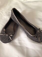 NWOB!! Girls CUPCAKE COUTURE Silver Spakle Dress Shoes Size 13 M ~NICE~