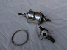 Sturmey Archer Srf5 (w) Wide Range Internal Gear Bike Hub 5 Speed & Shifter 36h