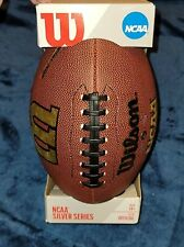 Wilson NCAA SILVER SERIES REACTION COLLEGE FOOTBALL OFFICIAL SIZE NFL FBS