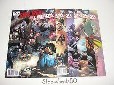 Star Trek Legion Of Super Heroes #1-6 Comic Lot DC 2011 2 3 4 5 COMPLETE LOSH