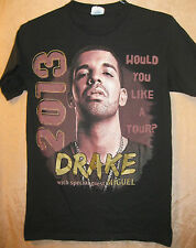 Drake Authentic 2013 Would You Like Concert Tour Shirt Sm Ex+ Nm Oop Miguel