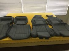 1985 1992 Pontiac Trans Am GTA Leather seat covers in correct Gray color