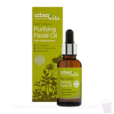 Urban Veda PURIFYING FACIAL OIL deep cleansing oily facial skin 30ml