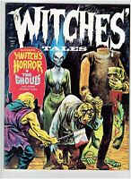 Witches Tales Vol.4 #3 Classic Horror Magazine Eerie Publications 1972