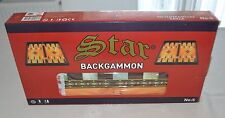 Star Sahra Backgammon Tavla High Quality NIB
