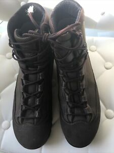 British Military Army Brown Aku Boots Size 10L/Goretex/walking/hiking/treking