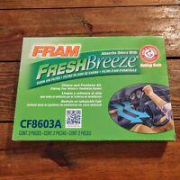 FRAM CF8603A Fresh Breeze  Cabin Air Filter Arm&Hammer Honda Acura NEW
