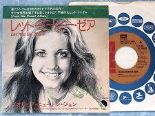 """OLIVIA NEWTON JOHN Let Me Be There EMR-10699 JAPAN 7"""" 144az36"""