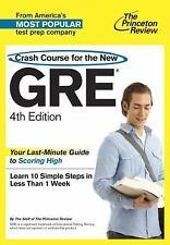Crash Course for the New GRE, 4th Edition (Graduate School Test Preparation) Pr