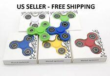 3x Lot Tri-Spinner Fidget Toy EDC Hand Finger Spinner Stress ADHD US Seller