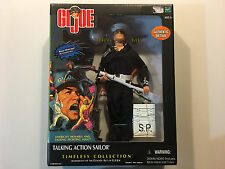 """G.I. Joe Timeless Collection Talking Action Sailor 12"""" figure doll Brand New"""