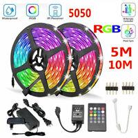 10M ruban à LED 5050 RGB bande de lumiere + Kit Télécommande 20 Touches Étanche