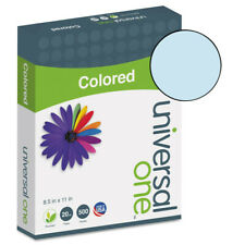 Universal 11202 500ream 85 In X 11 In Deluxe Colored Paper Blue New