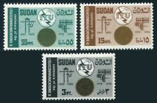 Sudan 176-178,MNH.Michel 203-205. ITU-100,1965.Communication equipment.