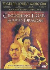New listing Crouching Tiger, Hidden Dragon (Dvd, 2001)