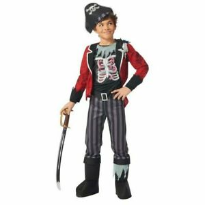 Grusel Pirat Kinder Jungen Piraten Halloween Fasching Karneval Kostüm 104 - 116
