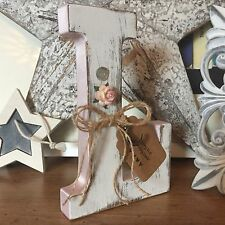 Personalised Shabby Chic Free Standing Vintage Decorative Letter