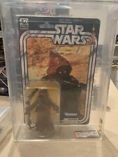 "Star Wars 40th Anniversary Black Series 6"" Jawa (2017) AFA U9.0 MOC"