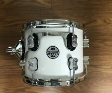 Pacific PDP Concept Maple 8x10 Tom w/ Chrome Hardware-Pearlescent White-PDCM0810