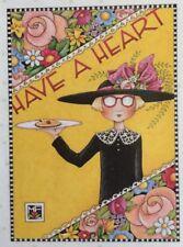 Mary Engelbreit Artwork-Have A Heart-Handmade Magnet