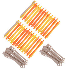 Beauty Salon Tool 24pcs Hair Curler Rollers Perm Rods Clip for Hairdressing
