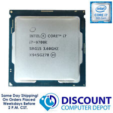 Intel Core i7-9700k 3.6GHz Octa Core CPU Computer Processor LGA1151 SRELT SRG15