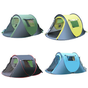 Waterproof Oxford Cloth Camping Shelter Winter Survival Tent 3-4 Person Outdoor