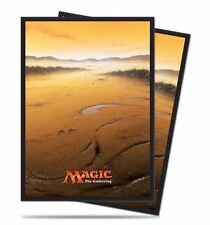 80 ULTRA PRO PLAINS DECK PROTECTORS SLEEVES MTG Unhinged White