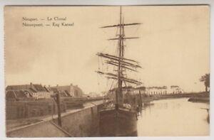 Belgium postcard - Nieuport, Le Chenal (A31)