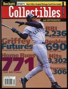 Beckett Sports Collectibles Magazine #99 July 1999 Ken Griffey Jr Mariners VG