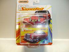 ! Matchbox Superfast 50th Annivarsary # 01 Mercedes Benz in Originalbox !